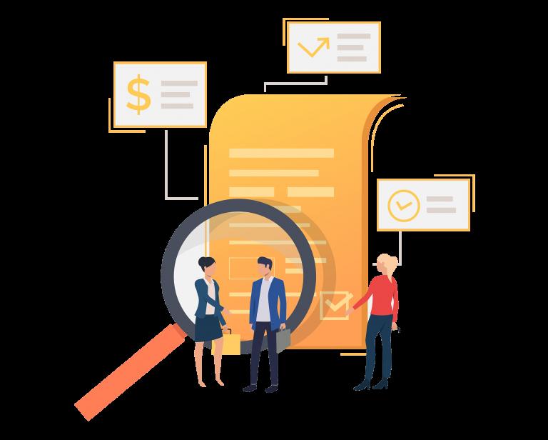 Audit representation services